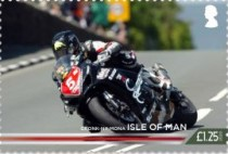 [The 100th Anniversary of the 37¾ Miles of Isle of Man TT Course, type CUV]
