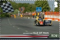 [The 100th Anniversary of the 37¾ Miles of Isle of Man TT Course, type CUX]