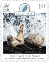 [The Calf of Man - The 70th Anniversary of the Manx National Trust, type CWE]