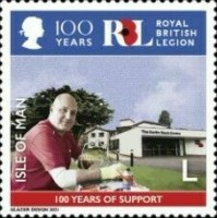 [The 100th Anniversary of the Royal British Legion, type CXP]