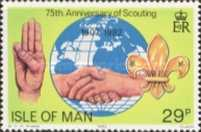 [The 75th Anniversary of the Boy Scout Movement, The 125th Anniversary of the Birth of Robert Baden-Powell, type GK]