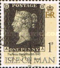 [The 150th Anniversary of the Publishment of the First Stamp, type PC]