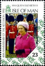[The 40th Anniversary of the Accessin of Queen Elizabeth II, type RJ]
