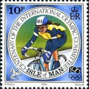 [The 100th Anniversary of the International Olympic Committee, type VV]