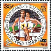 [The 100th Anniversary of the International Olympic Committee, type VY]