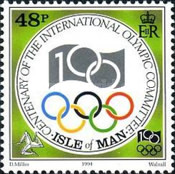 [The 100th Anniversary of the International Olympic Committee, type VZ]