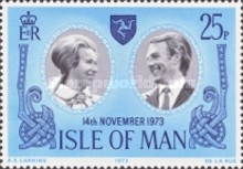 [Anniversary of Princess Ann and Captain Mark Philips, type X]