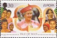 [EUROPA Stamps - Famous Women, type YJ]