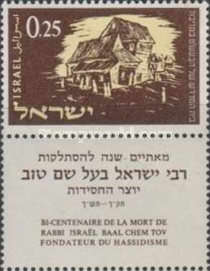 [The 200th Anniversary of the Death of Rabbi Baal Shem Tov (Founder of Hassidism Movement), Typ HQ]