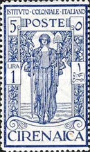 [Italian Colonial Institute - Goddess of Peace - Watermarked, type G5]