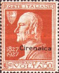 [The 100th Anniversary of the Death of Alessandro Volta - Italian Postage Stamps Overprinted