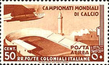 [Airmail - Football World Cup - Airplanes, type AL]