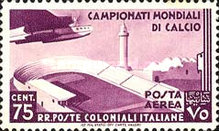 [Airmail - Football World Cup - Airplanes, type AL1]