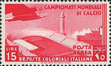 [Airmail - Football World Cup - Airplanes, type AL2]