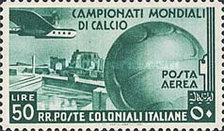 [Airmail - Football World Cup - Airplanes, type AL3]