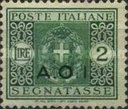 [Coat of Arms  - Italian Postage Due Stamps Overprinted, Typ A9]