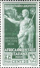 [The 2000th Anniversary of the Birth of Emperor Augustus, Typ M1]