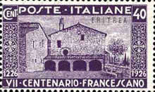 [The 700th Anniversary of the Death of St. Francis of Assisi - Italian Postage & Not Issued Stamps Overprinted, Typ AB1]
