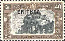 """[Italian Postage & Not Issued Stamps Overprinted """"ERITREA"""", type AG]"""