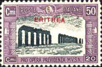 [Not Issued Italian Postage Stamps Overprinted