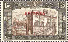 """[Not Issued Stamps of Italy Overprinted """"ERITREA"""", type BA2]"""