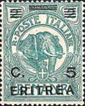 [Italian Somaliland Postage Stamps Overprinted and Surcharged, type R1]