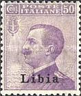 """[Italian Postage Stamps Overprinted """"Libia"""", type A11]"""