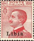 """[Italian Postage Stamps Overprinted """"Libia"""", type A12]"""