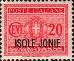 [Italian Postage Due Stamps Overprinted