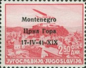 [Yugoslavia Airmail Stamps of 1937 Overprinted