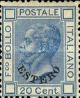 [Numeral Stamps & King Victor Emmanuel II - Italy Postage Stamps Overprinted