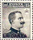 """[Italy Postage Stamps Overprinted """"LA CANEA"""", tyyppi D2]"""