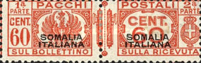 [Italian Postage Stamps Overprinted, type F5]