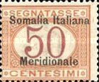 [Figure of Value - Italian Postage Due Stamps Overprinted