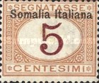 [Italian Postage Due Stamps Overprinted, type B]