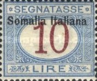 [Italian Postage Due Stamps Overprinted, type B10]