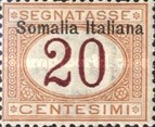 [Italian Postage Due Stamps Overprinted, type B2]