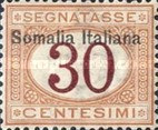 [Italian Postage Due Stamps Overprinted, type B3]