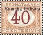 [Italian Postage Due Stamps Overprinted, type B4]