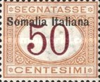 [Italian Postage Due Stamps Overprinted, type B5]