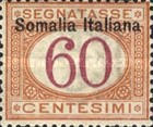 [Italian Postage Due Stamps Overprinted, type B6]