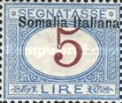 [Italian Postage Due Stamps Overprinted, type B9]