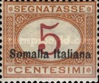 [Italian Postage Due Stamps Overprinted, type C]