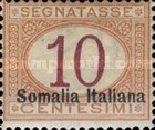 [Italian Postage Due Stamps Overprinted, type C1]
