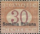 [Italian Postage Due Stamps Overprinted, type C3]