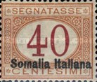 [Italian Postage Due Stamps Overprinted, type C4]