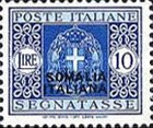 [Italian Postage Due Stamps Overprinted, type F11]