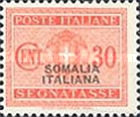 [Italian Postage Due Stamps Overprinted, type F4]