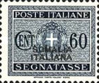 [Italian Postage Due Stamps Overprinted, type F7]