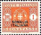 [Italian Postage Due Stamps Overprinted, type F8]